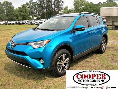 2016 Toyota RAV4 for sale in Clinton, SC