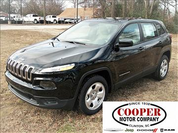 2017 Jeep Cherokee for sale in Clinton, SC