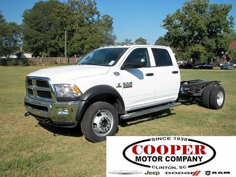 2018 RAM Ram Chassis 5500 for sale in Clinton, SC