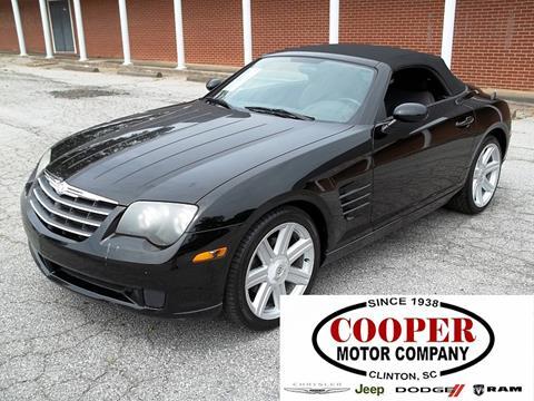 2005 Chrysler Crossfire for sale in Clinton, SC