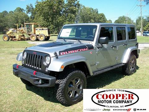 2017 Jeep Wrangler Unlimited for sale in Clinton, SC