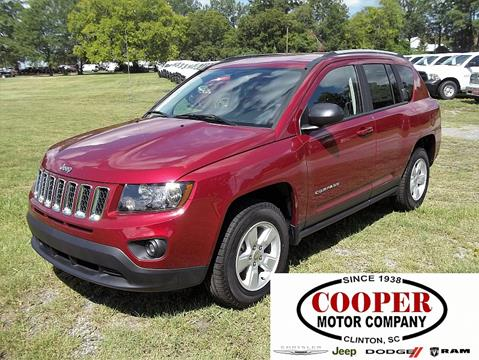 2017 Jeep Compass for sale in Clinton, SC