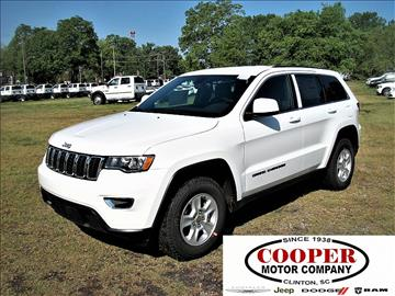 2017 Jeep Grand Cherokee for sale in Clinton, SC