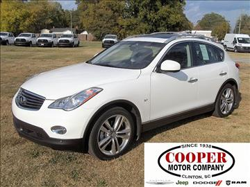 2015 Infiniti QX50 for sale in Clinton, SC