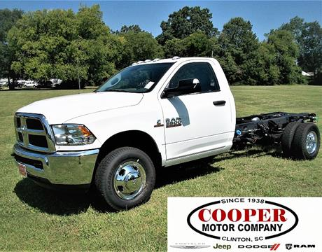 2017 RAM Ram Chassis 3500 for sale in Clinton, SC