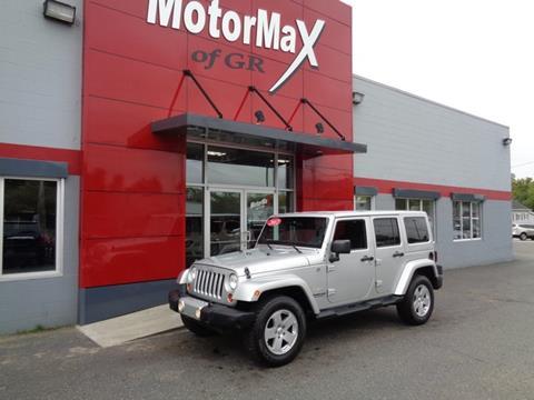 2012 Jeep Wrangler Unlimited for sale in Grandville, MI