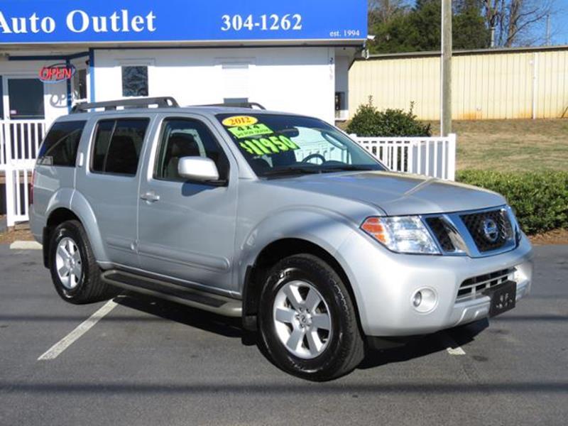2012 Nissan Pathfinder For Sale >> 2012 Nissan Pathfinder For Sale Carsforsale Com