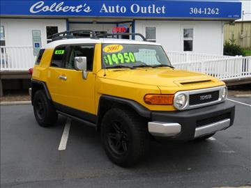 2007 Toyota FJ Cruiser for sale in Hickory, NC