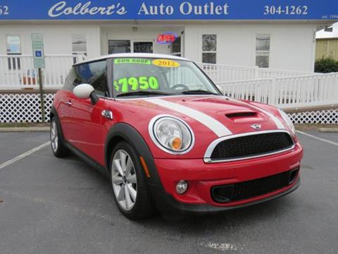 2012 MINI Cooper Hardtop for sale in Hickory, NC
