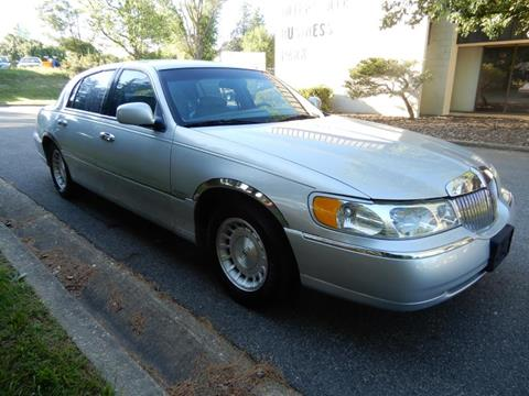 1999 Lincoln Town Car for sale in Fredericksburg, VA