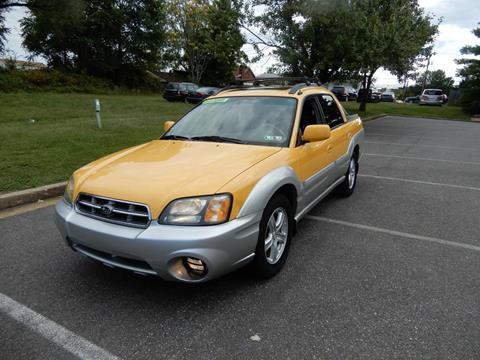 2003 Subaru Baja for sale in Fredericksburg, VA