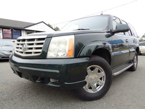 2002 Cadillac Escalade for sale in Fredericksburg, VA