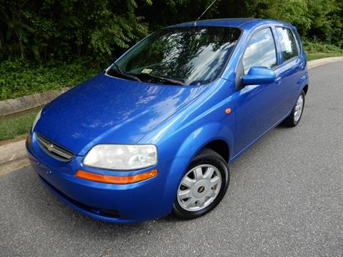 2004 Chevrolet Aveo for sale in Fredericksburg, VA