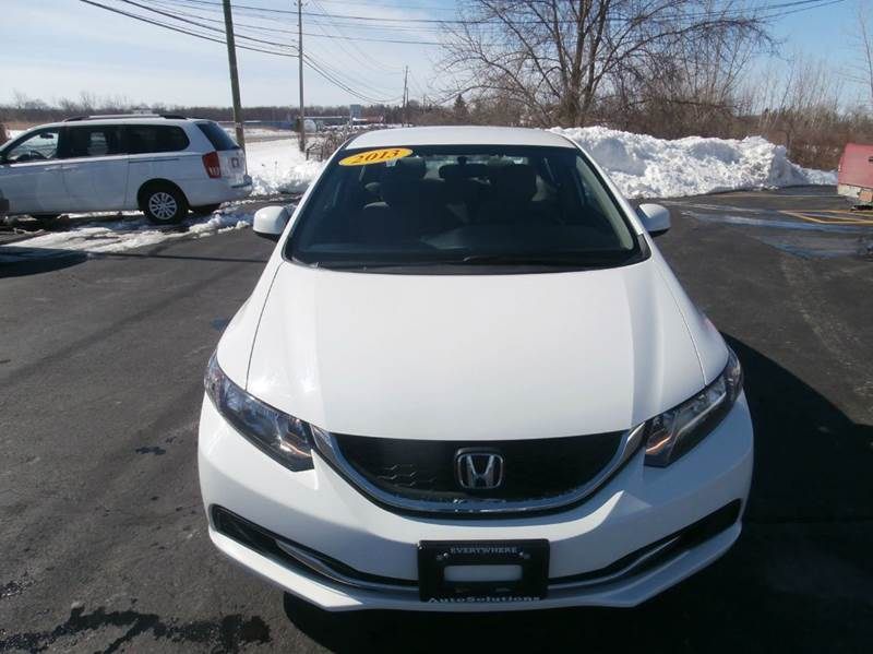 2013 Honda Civic LX 4dr Sedan 5A - Geneva NY