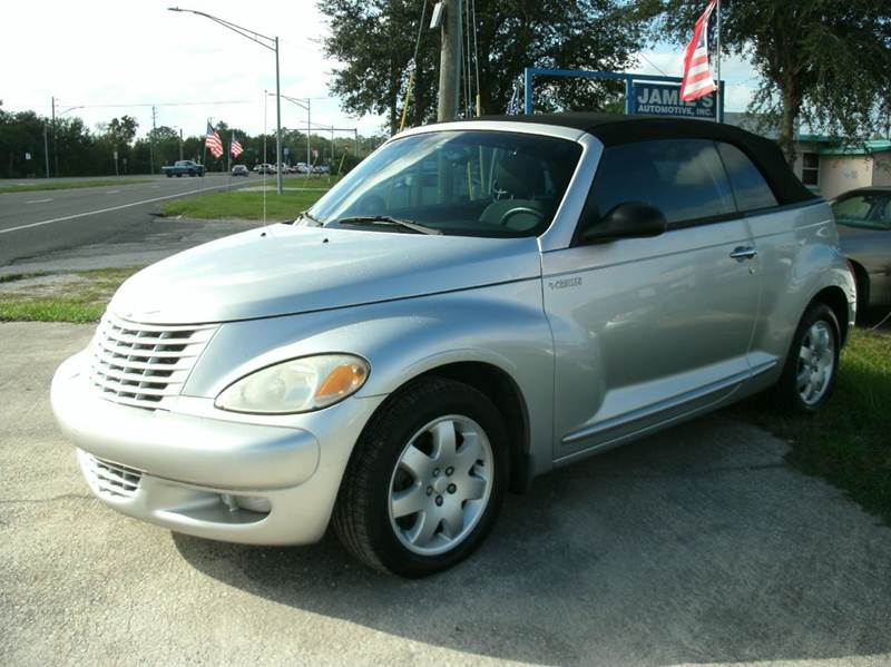 2005 chrysler pt cruiser touring 2dr turbo convertible in jacksonville fl network. Black Bedroom Furniture Sets. Home Design Ideas