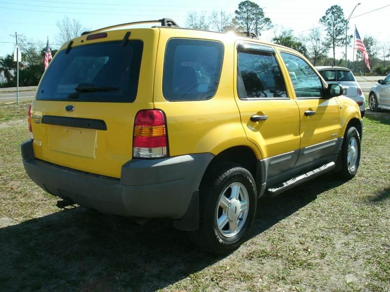 2001 Ford Escape XLS 2WD 4dr SUV - Jacksonville FL
