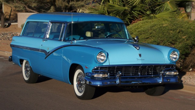 1956 ford parklane station wagon sale for 1956 ford wagon 2 door