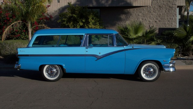 1956 ford parklane 2 door sports station wagon for sale in for 1956 ford wagon 2 door