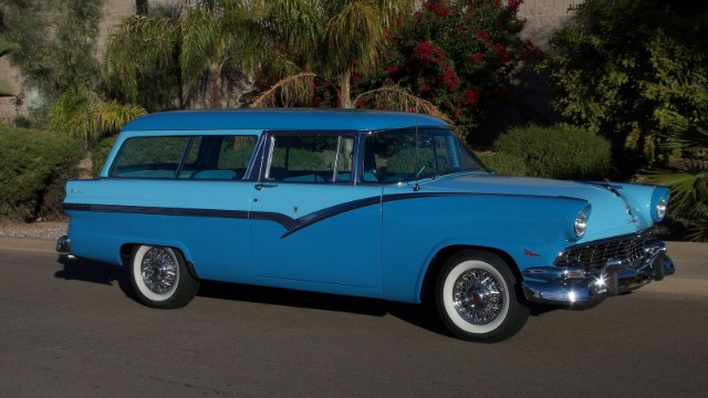 1956 ford parklane 2 door sports station wagon for sale in for 1956 ford 2 door wagon