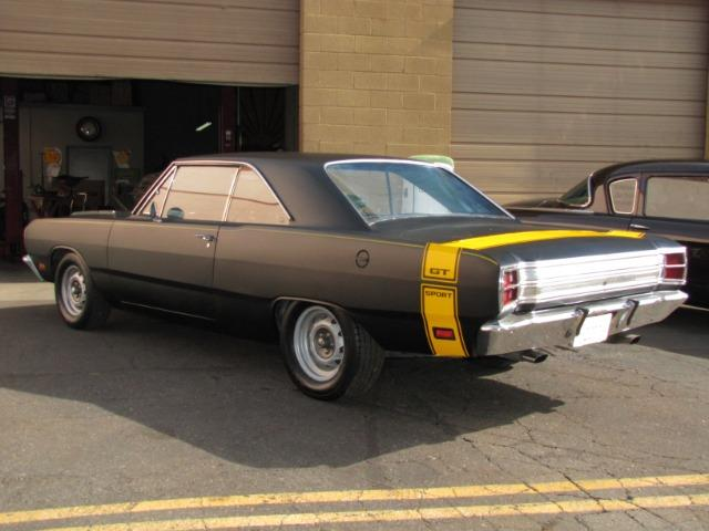 Julia went 1969 dodge dart swinger yellow