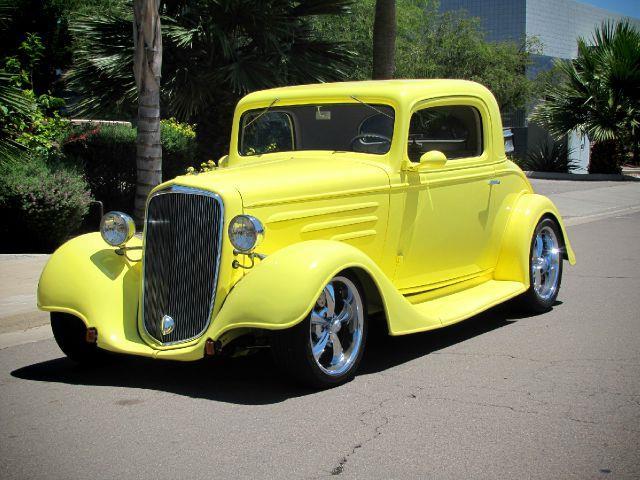 1935 Chevrolet Three Window Coupe