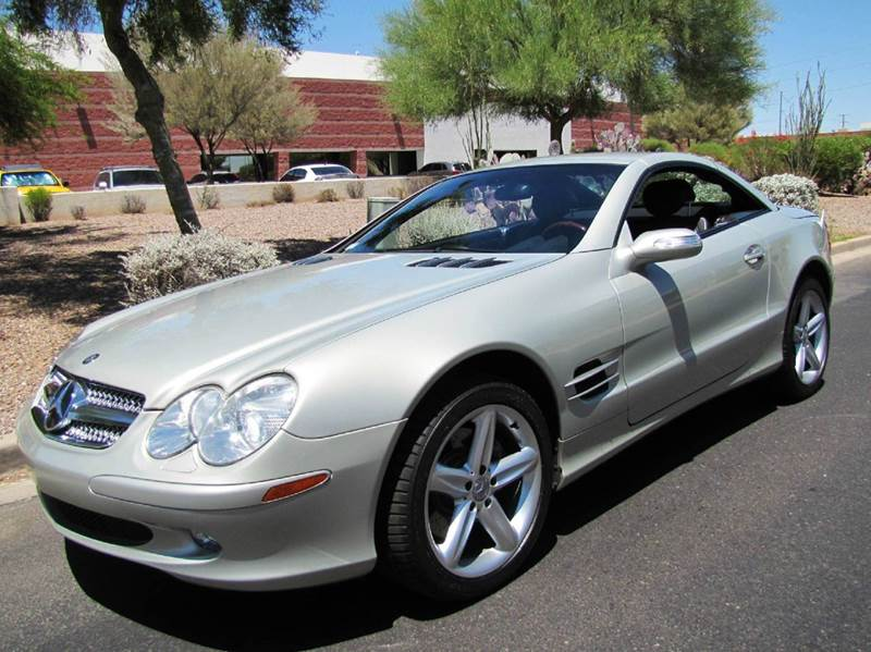 2003 mercedes benz sl class sl500 2dr convertible in for Mercedes benz of chandler arizona