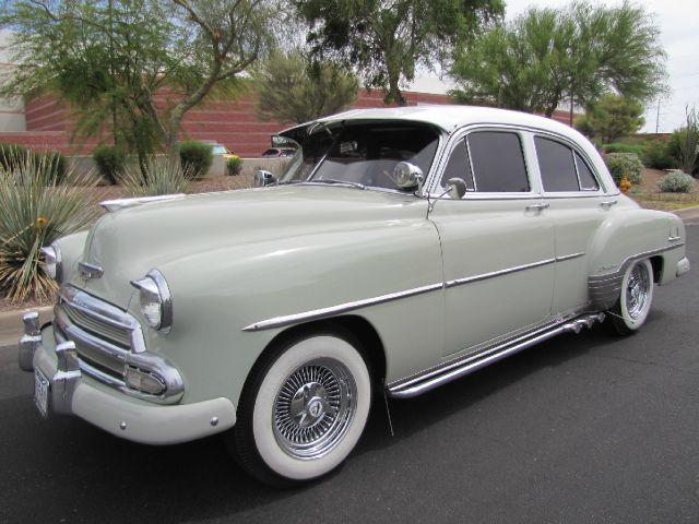 Used cars gilbert used pickup trucks phoenix scottsdale for 1952 chevy 4 door