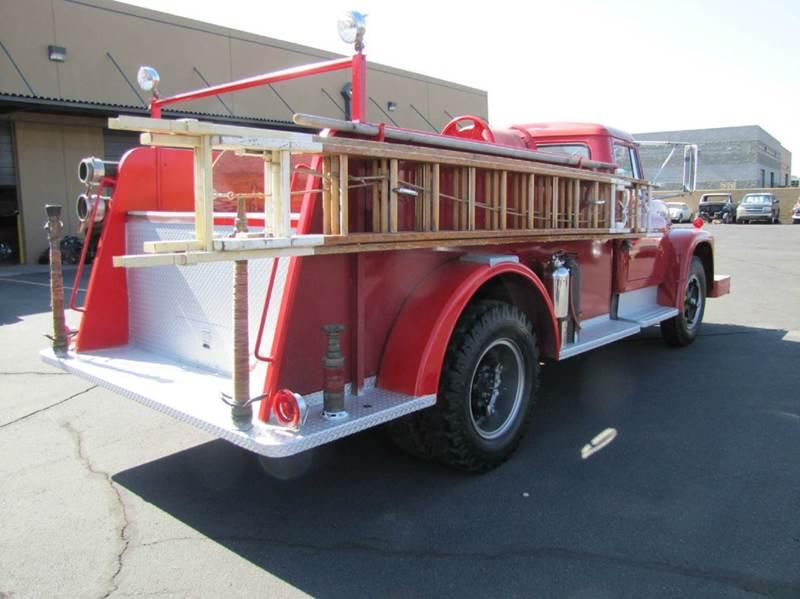 1964 international 1600 fire truck in chandler az steel for Department of motor vehicles chandler az