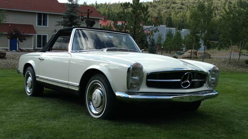 1966 mercedes benz sl class hardtop convertible in for Mercedes benz of chandler arizona