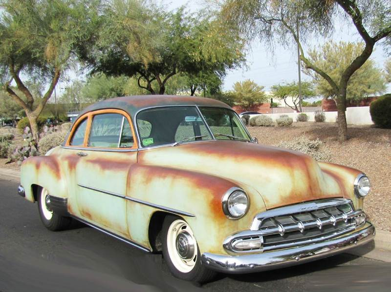 1952 chevrolet styleline two door sedan in chandler az for 1952 chevy 2 door sedan