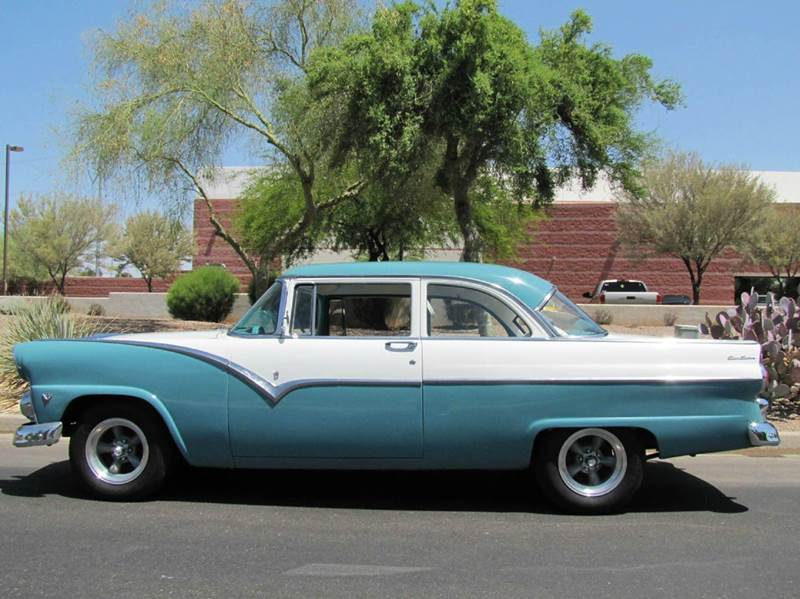 1955 ford club sedan two door coupe in chandler az steel for 1955 ford 2 door