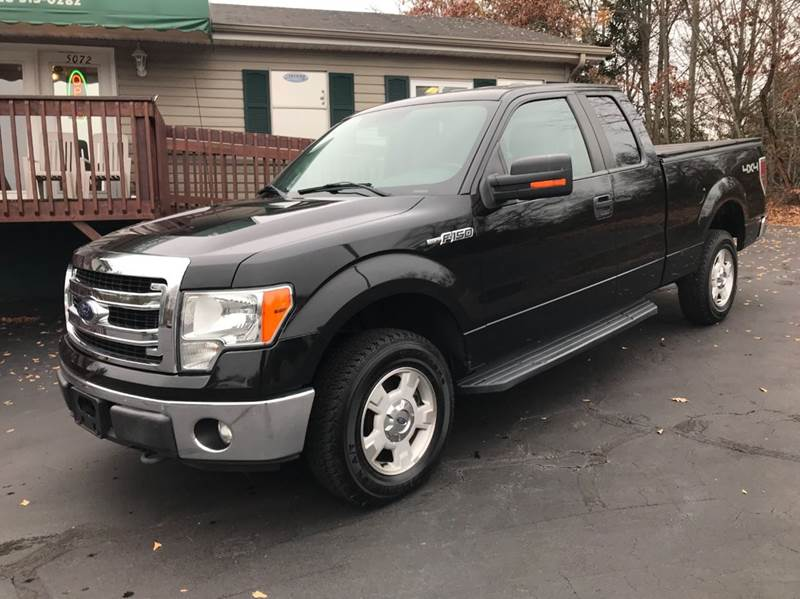 2013 Ford F-150 4x4 XLT 4dr SuperCab Styleside 6.5 ft. SB - Hickory NC