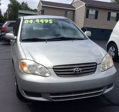 2004 Toyota Corolla for sale in Hickory, NC