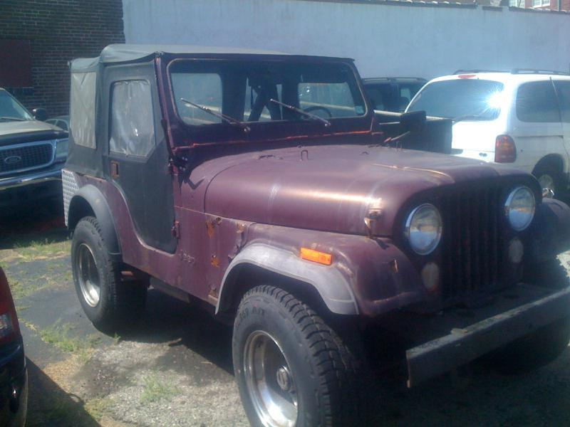 1976 jeep cj 5 for sale in saint louis mo. Black Bedroom Furniture Sets. Home Design Ideas