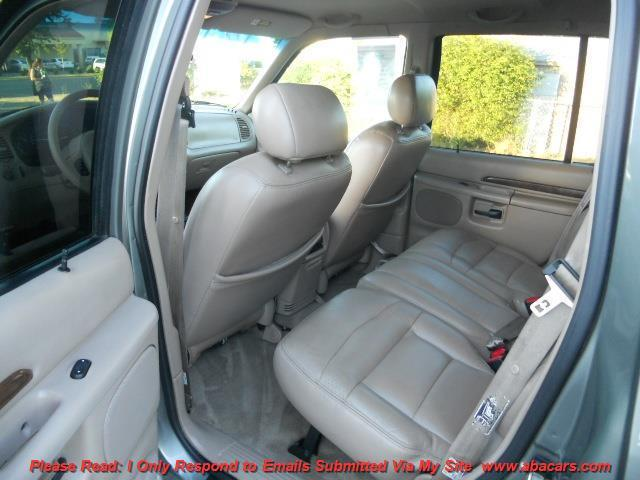 2000 Ford Explorer AWD Limited 4dr SUV - Lincon CA