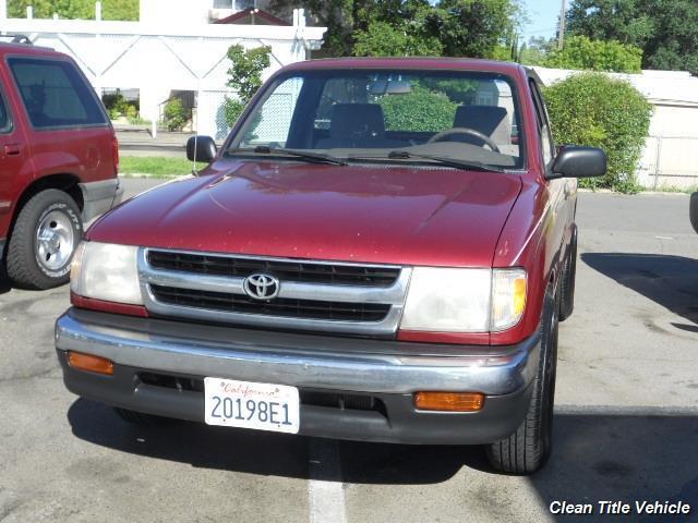 1998 Toyota Tacoma 2dr Standard Cab SB - Lincon CA