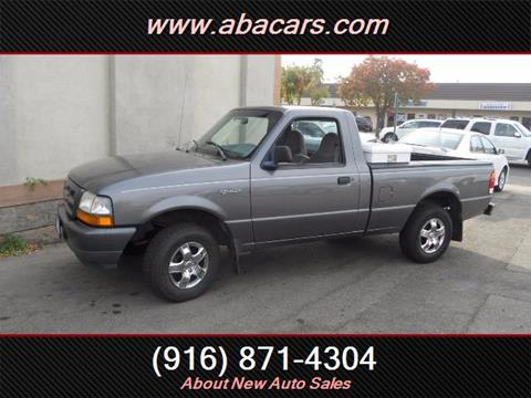 1998 Ford Ranger for sale in Lincon, CA