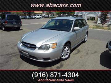 2005 Subaru Legacy for sale in Lincon, CA
