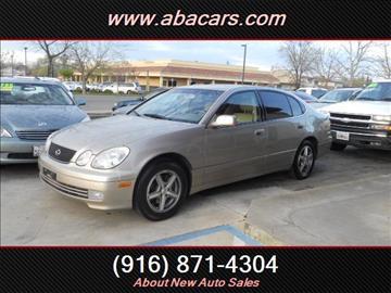 1999 Lexus GS 300 for sale in Lincon, CA