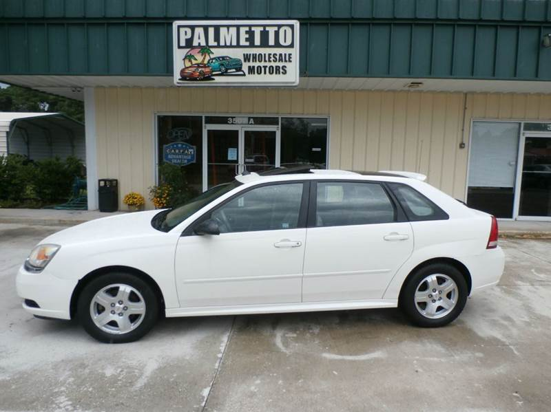 2005 chevrolet malibu maxx lt 4dr hatchback hardeeville sc. Black Bedroom Furniture Sets. Home Design Ideas