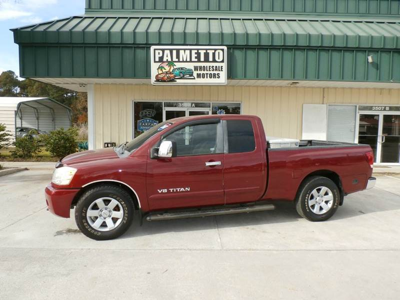 2007 Nissan Titan Le 4dr King Cab Sb In Hardeeville Sc