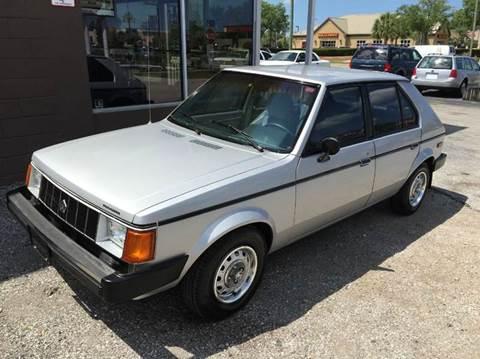 1987 Plymouth Horizon