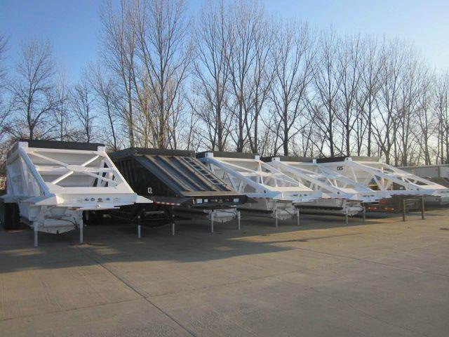 2015 CPS 42' TRI AXLE BELLY DUMPS