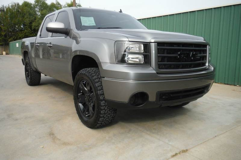 2008 gmc sierra 1500 slt 2wd crew cab in gainesville tx. Black Bedroom Furniture Sets. Home Design Ideas