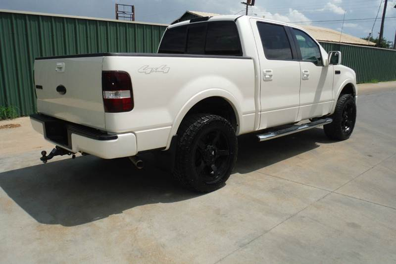 2008 ford f 150 lariat 4x4 supercrew in gainesville tx triple c auto sales inc. Black Bedroom Furniture Sets. Home Design Ideas