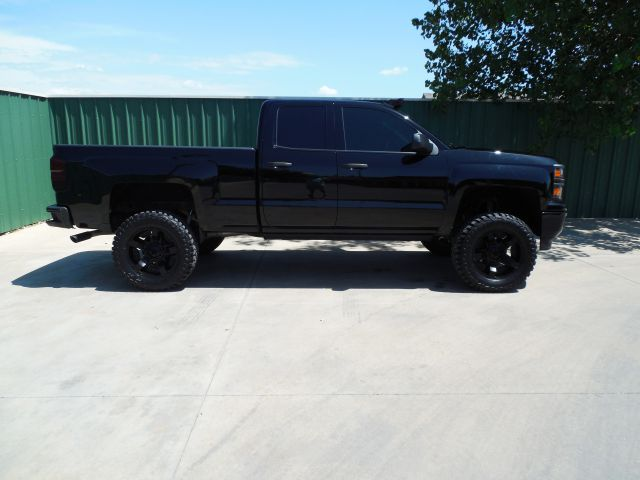 Purchase Used 2014 Chevrolet Silverado 4x4  Blacked Out  Lifted  Amp Steps  Light Bar In