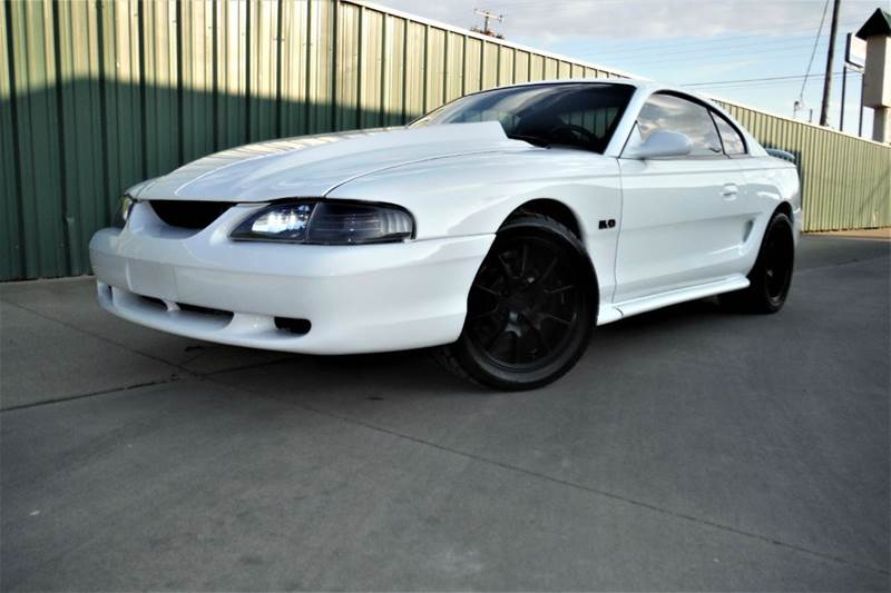 1995 ford mustang gt 2dr coupe in gainesville tx triple c auto sales inc. Black Bedroom Furniture Sets. Home Design Ideas