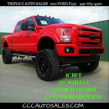2011 Ford F-250 Super Duty for sale in Gainesville, TX