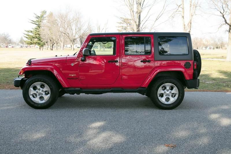 2015 Jeep Wrangler Unlimited Sahara 4x4 4dr SUV - Terre Haute IN
