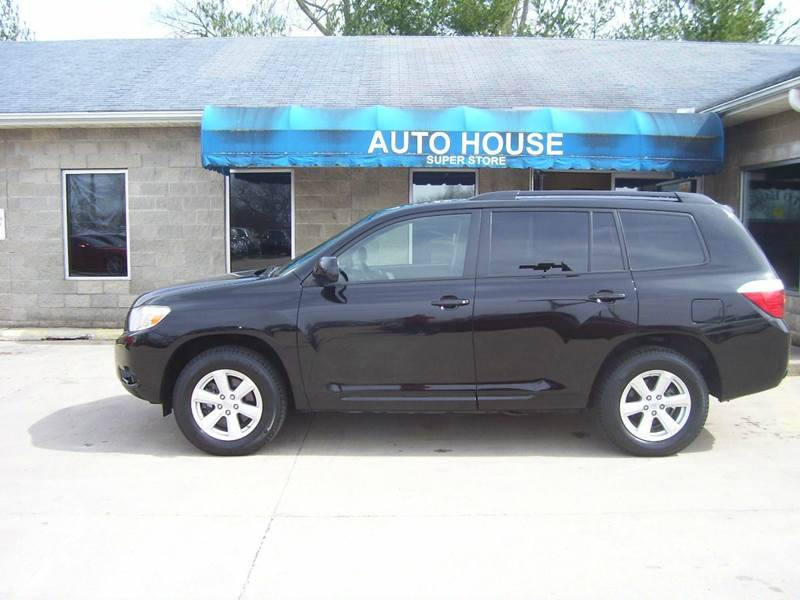 2010 toyota highlander se awd 4dr suv in terre haute in. Black Bedroom Furniture Sets. Home Design Ideas